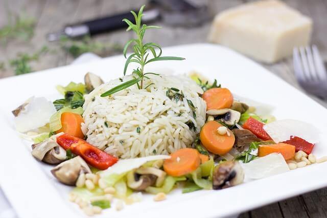 Low Carb Reis Gerichte