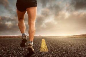 Bewegung bei schnelle Diät